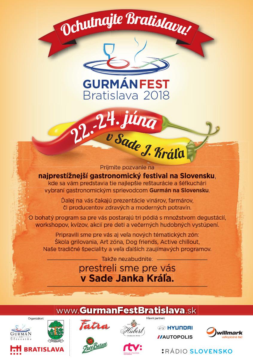Gurmán Fest Bratislava 2018