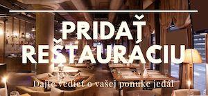 Registrácia reštaurácie na Menucka.sk