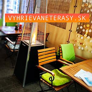Vyhrievané terasy v reštauráciách na Slovensku