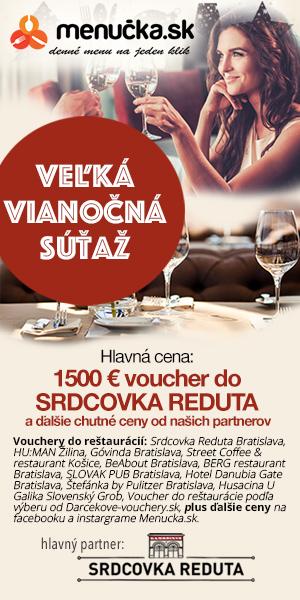 Veľká vianočná súťaž s Menucka.sk