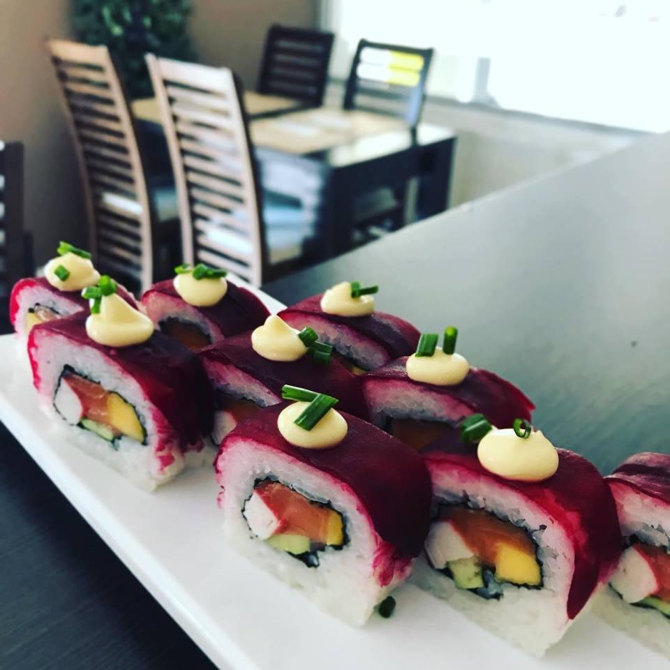 Ruské sushi dotvorby