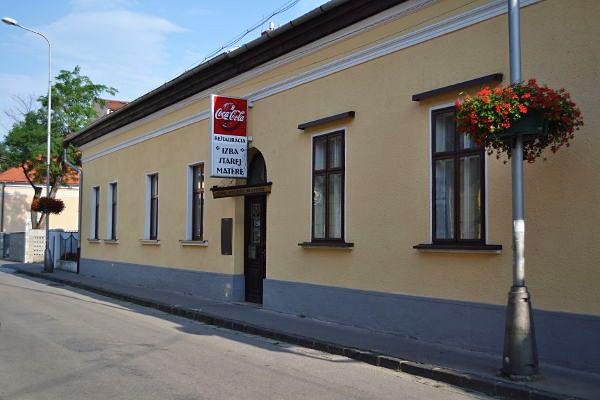 Izba starej matere - 5 reštaurácií, do ktorých som sa v Nitre vybrala obedovať medzi prednáškami