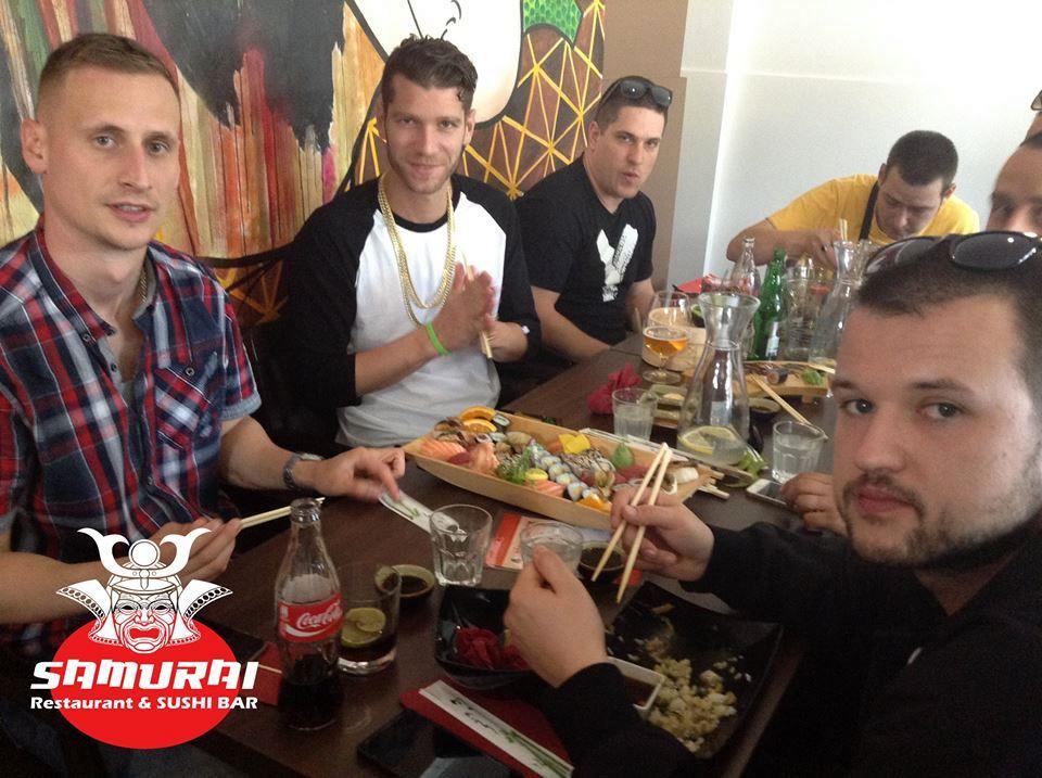 Samurai Sushi v Banskej Bystrici - Majk Spirit