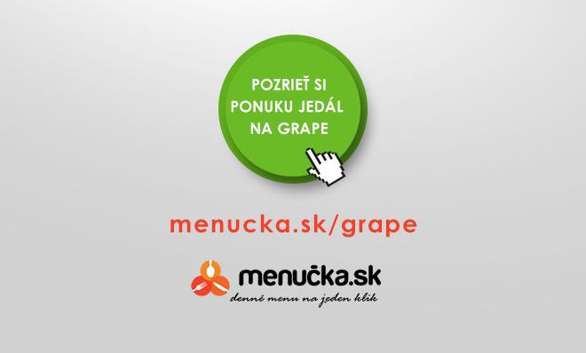 Prehľad ponúkaných jedál a nápojov na festivale Grape festival 2015
