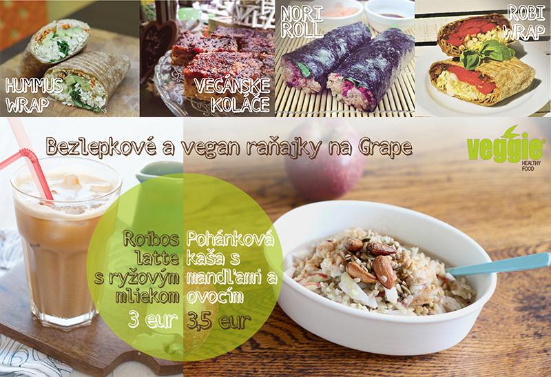 Bezlepkové raňajky - Veggie, Grape festival 2015
