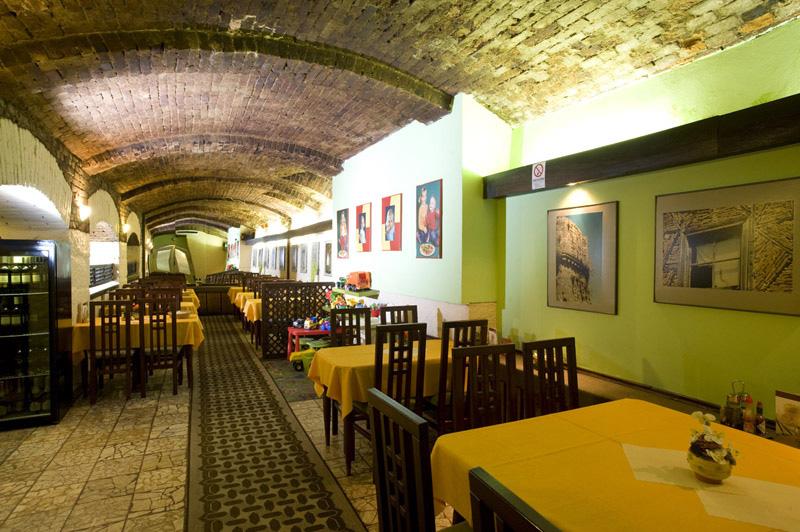 Pizzérie v Žiline: Zaujímavo riešená stropná klenba ihneď upúta