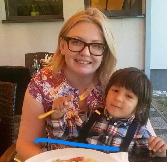 Miriam Miková: Miriam so svojím synčekom
