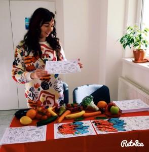 Janka Chytráčková Food Revolution Day Košice