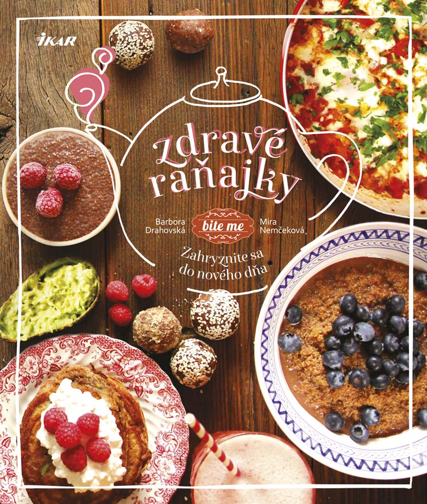 slovenské foodblogy #1: Kniha blogeriek z biteme - Zdravé raňajky