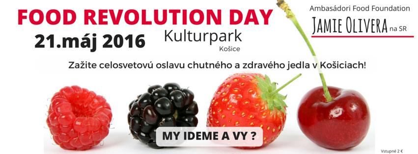 Food Revolution Day Košice