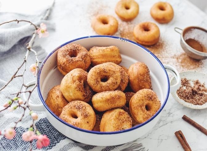 slovenské foodblogy #1: Chutné škoricové šišky od LaPetit - zbiehajú sa nám slinky