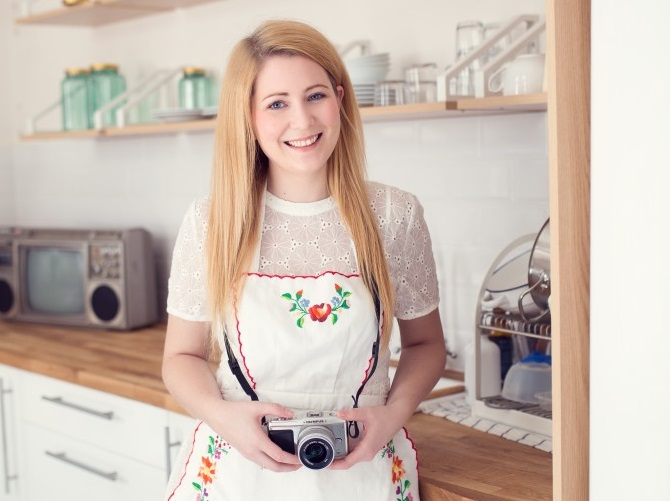 slovenské foodblogy #1: Krásna a šikovná blogerka Monika
