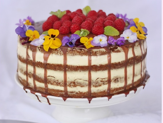 slovenské foodblogy #2: Dulce de Lechce - Maková torta s vanilkovým krémom