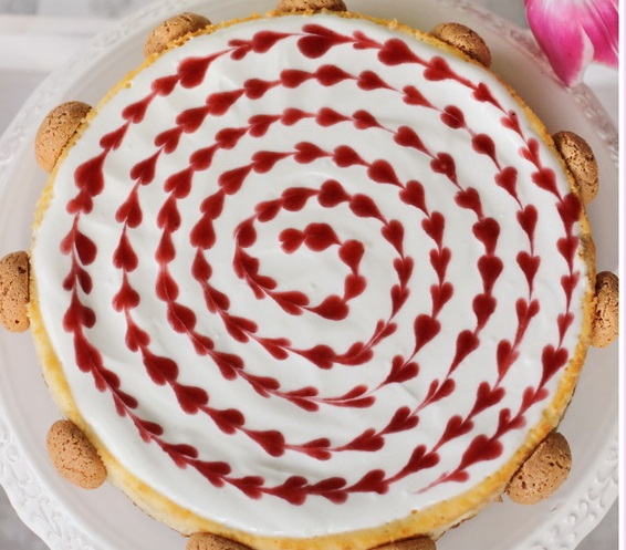 slovenské foodblogy #2: Dulce de Lechce - Malinový amaretti cheescake
