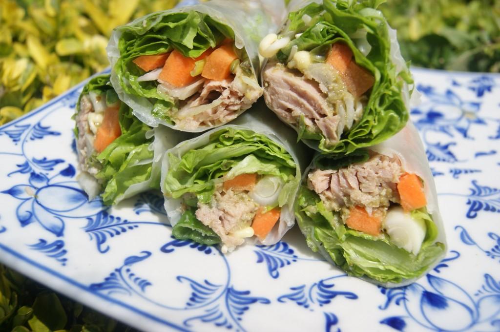 slovenské foodblogy #2: Foodbloggerka - Jarné závitky s tuniakom