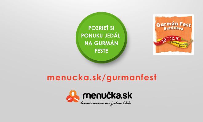 Gurmán Fest Bratislava 2016 - reštaurácie na Gurmán Feste