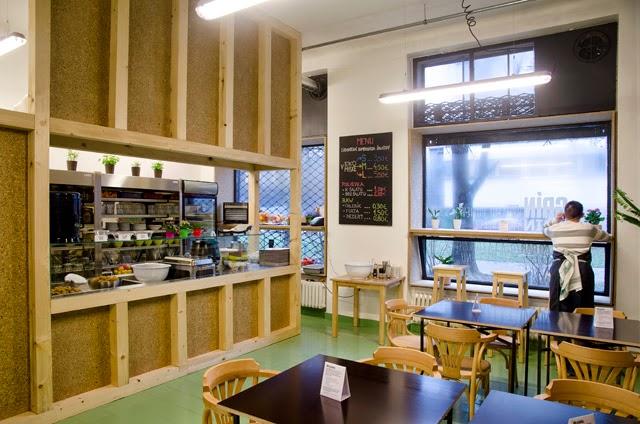 vegetariánske a vegánske reštaurácie: Grín Grin Salad Bar, Budovateľská 27, Bratislava, foto: toito.eu