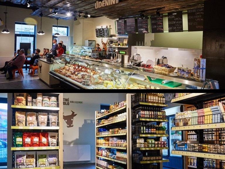 vegetariánske a vegánske reštaurácie: Ozajstné jedlo - Sklízeno, Suché Mýto 6, Bratislava, foto: sklizeno.sk/suchemyto