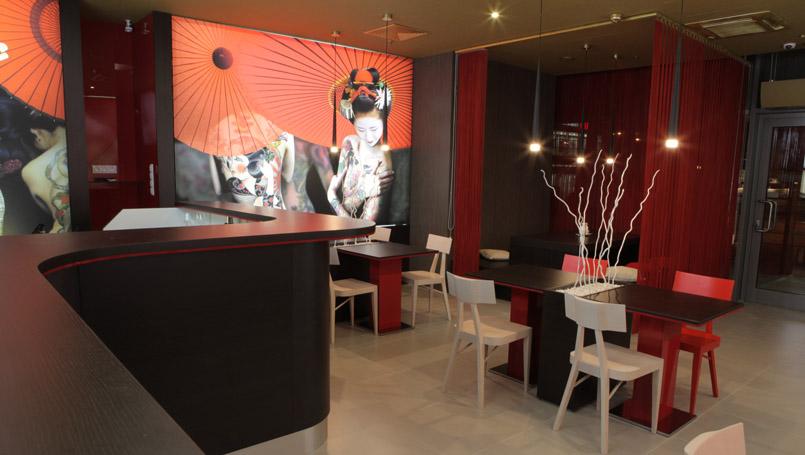 sushi reštaurácie: Prekrásna Maiko Sushi Košice, ktorá nesie pomenovanie po mladej gejši, foto: sushimaiko.sk/sk/galeria/
