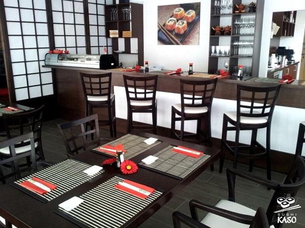 sushi reštaurácie: Sushi Kaso v Senci sa pýši moderným technologickým vybavením, foto: sushikaso.sk/galeria/
