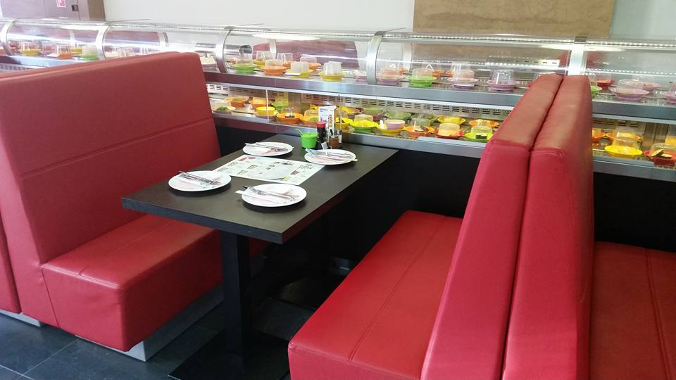 sushi reštaurácie: Running sushi v Trnave, foto: facebook.com/running-sushi-restaurant