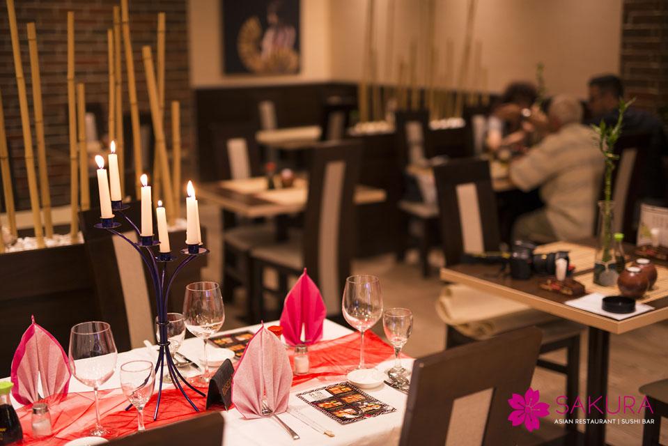 sushi reštaurácie: Sakura v Nitre patrí k TOP podnikom vo svojej kategórii, foto: sakura.sk/galeria/