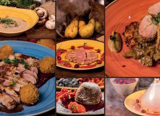 Flamender Laurinska Bratislava Tasting menu