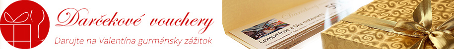 Darčekové vouchery - valentínsky darček