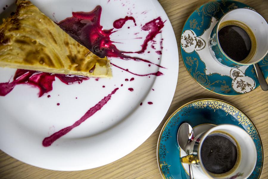 Bistro Terrine - Hruškový koláč s pravým pudingom