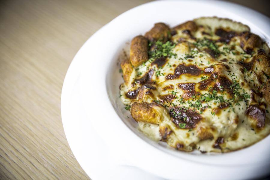 Bistro Terrine - Parížske gnocchi zapečené v syrovej omáčke