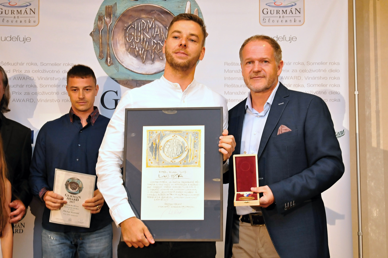 Gurmán Award 2017 - Lukáš Hesko