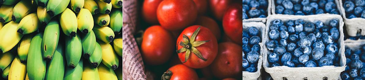 menucka-magazin-farby-na-tanieri-top-cucoriedky-paradajka-banany-zelenina-ovocie