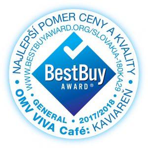 Best Buy Award Slovakia - Viva kaviarne