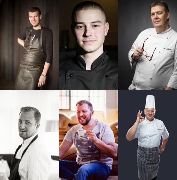 Gastronomy Slovakia 2017 - sefkuchari live cooking