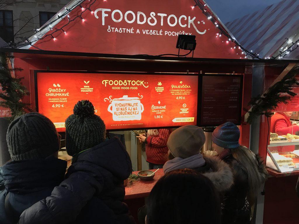 Foodstock: Foodstock prináša na vianočné trhy dobrú náladu, foto: Foodstock