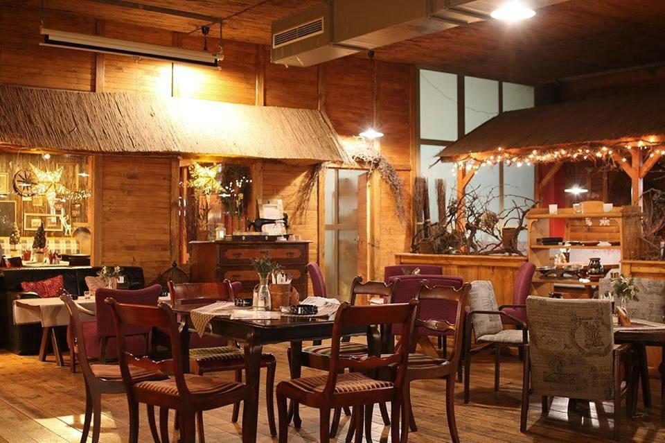 Slovenský dvor: Interiér reštaurácie, foto: FB Slovenský dvor