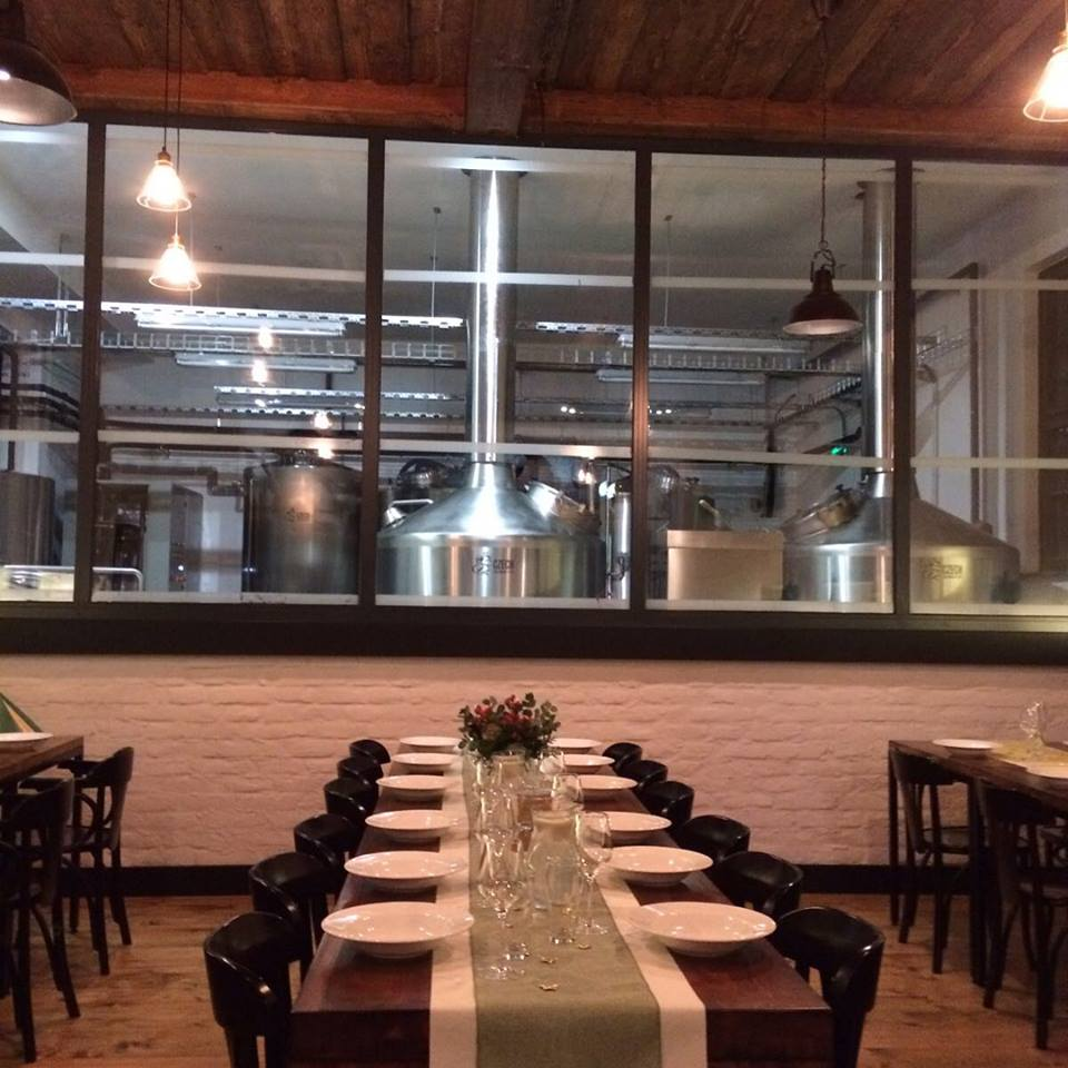 Panský pivovar: Interiér reštaurácie je priamo prepojený s pivovarom