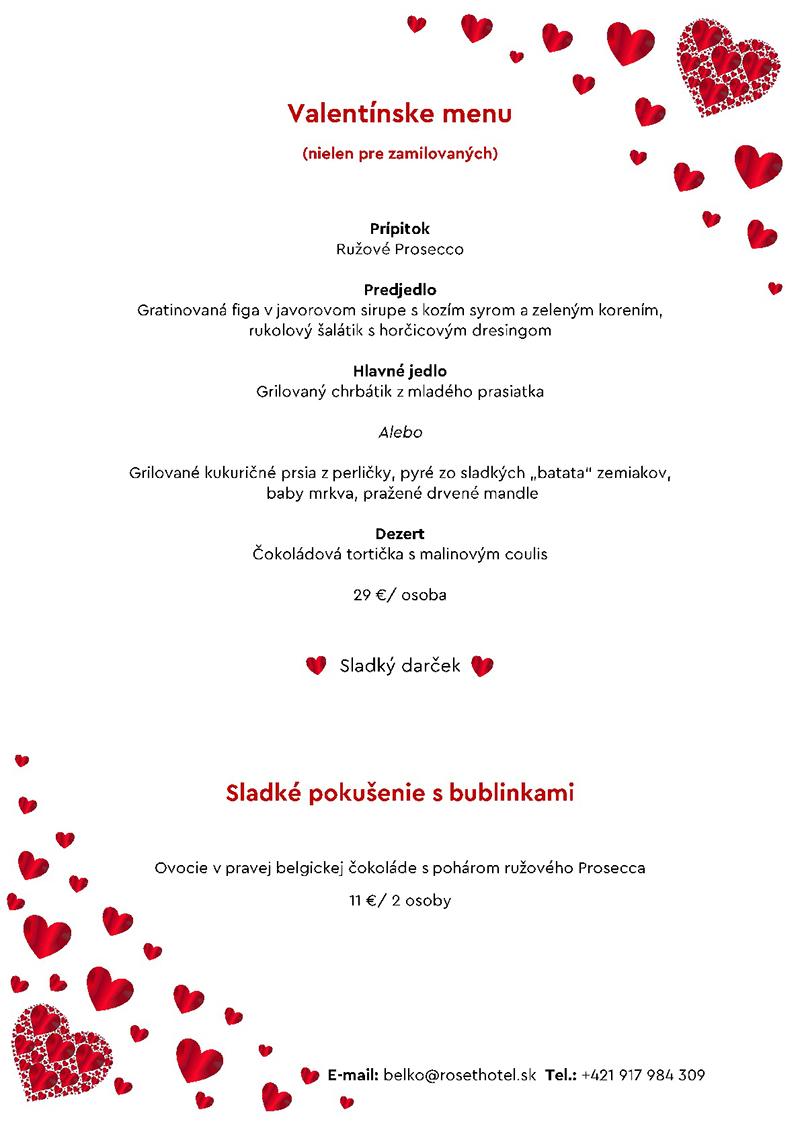 Valentín - Tulip Cafe & Restaurant - Roset Boutique Hotel Bratislava