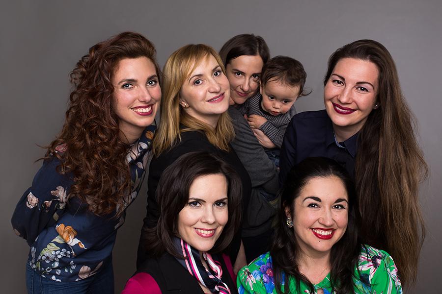 Martina Novotná: S kolegyňami a priateľkami v jednom, foto: archív M. Novotnej