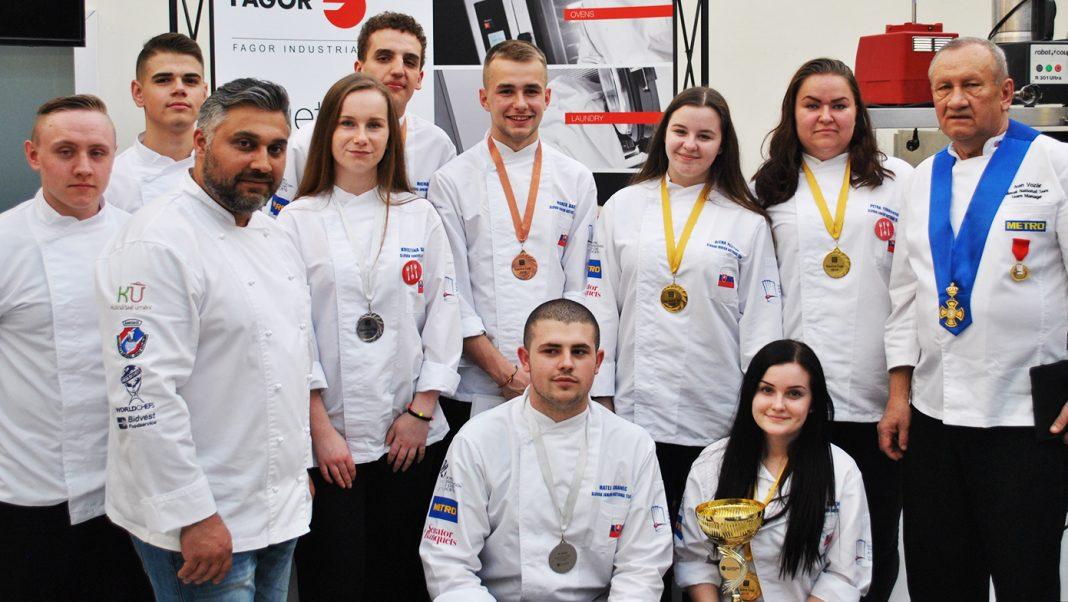 národný juniorský tím kuchárov a cukrárov