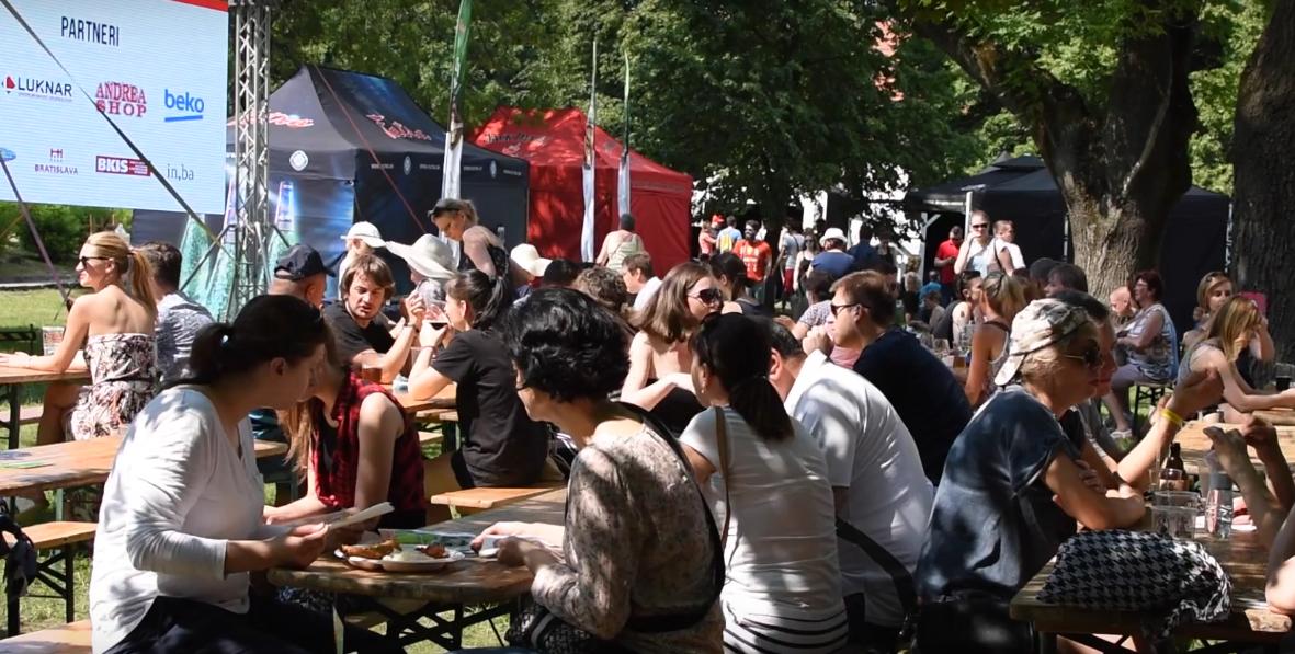 Jaroslav Ertl: Pohodová atmosféra na Slovak Food Festivale 2017, foto: youtube.com