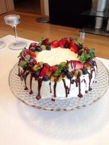 Na narodeniny detí pečiem torty. Táto je bezlepková.