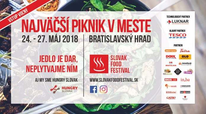 Slovak Food Festival 2018