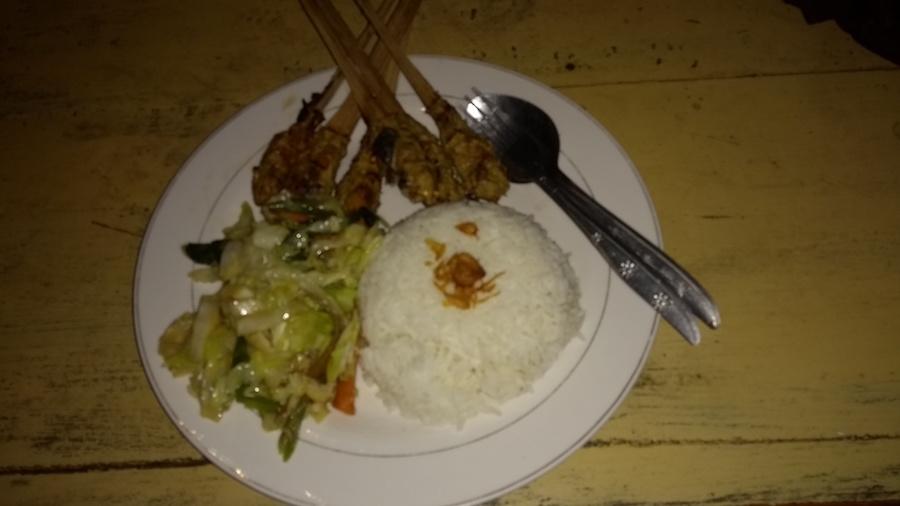 Sate, Bali, Indonézia, kuchyňa