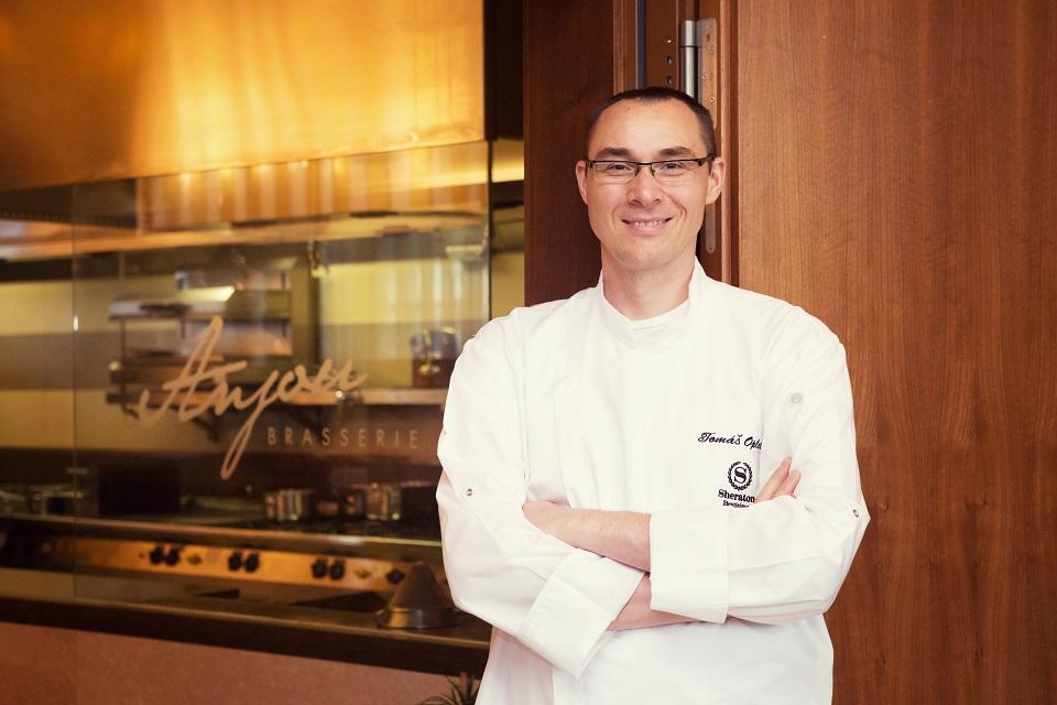 avokádo: Tomáš Opletal z reštaurácie Hotela Sheraton, foto: archív T. O.