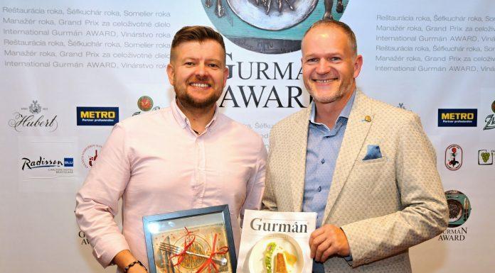 Juraj Hruška a Rado Nackin - Gurmán Award 2018