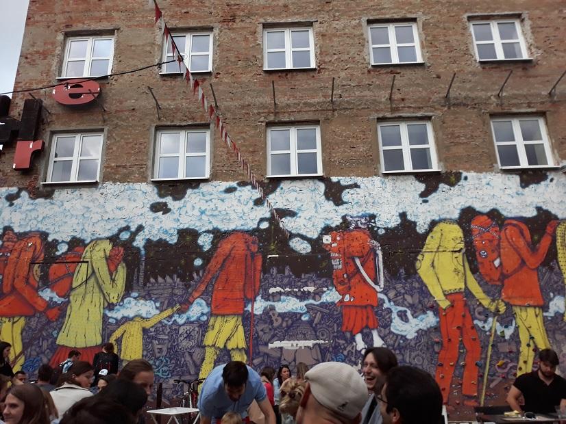 Tabačka Košice: Obrazy na stene, kde každý vidí niečo iné, foto: autorka