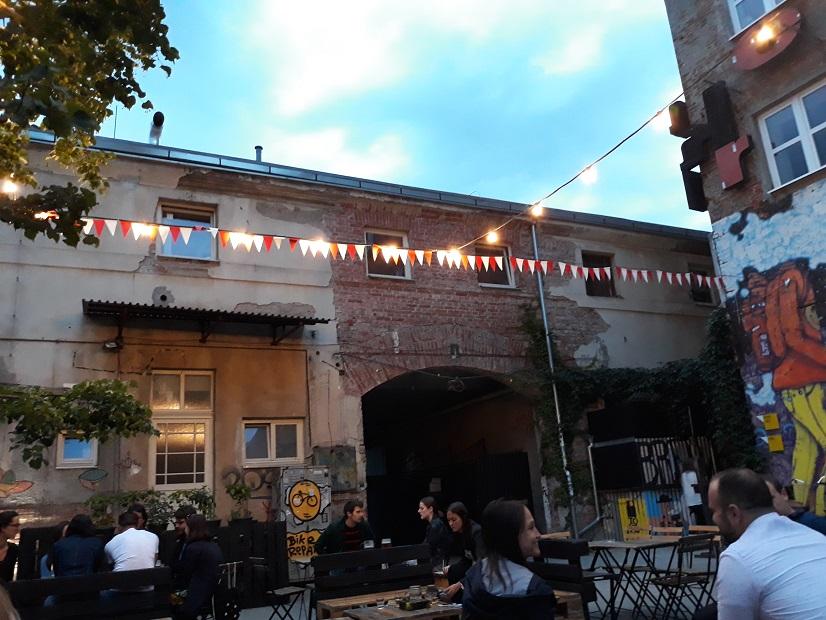 Tabačka Košice: Atmosféru dotvárali svetielka, foto: autorka
