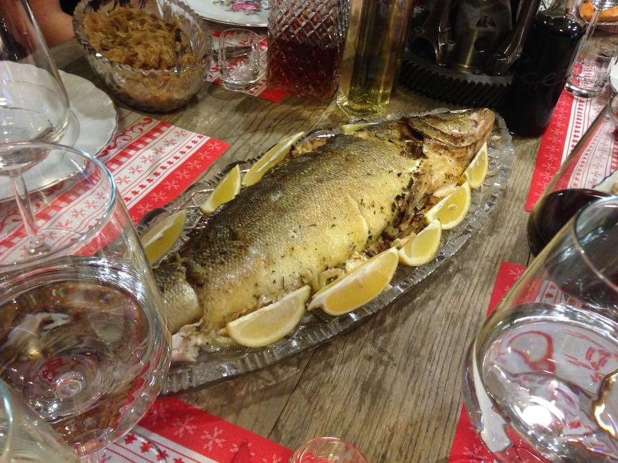 Inna Semi vianočná ryba