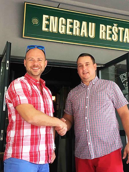 Oliver Kríž Petržalka Engerau reštaurácia